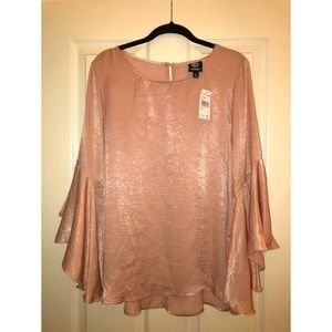 FINAL MARKDOWN: NWT Bobeau Bell Sleeve Top